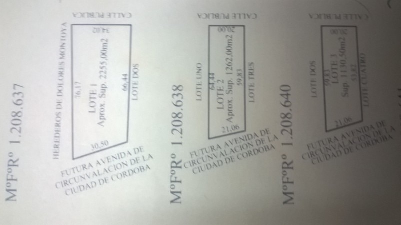 LOTES APTOS SUBDIVISION EN MALVINAS ARG